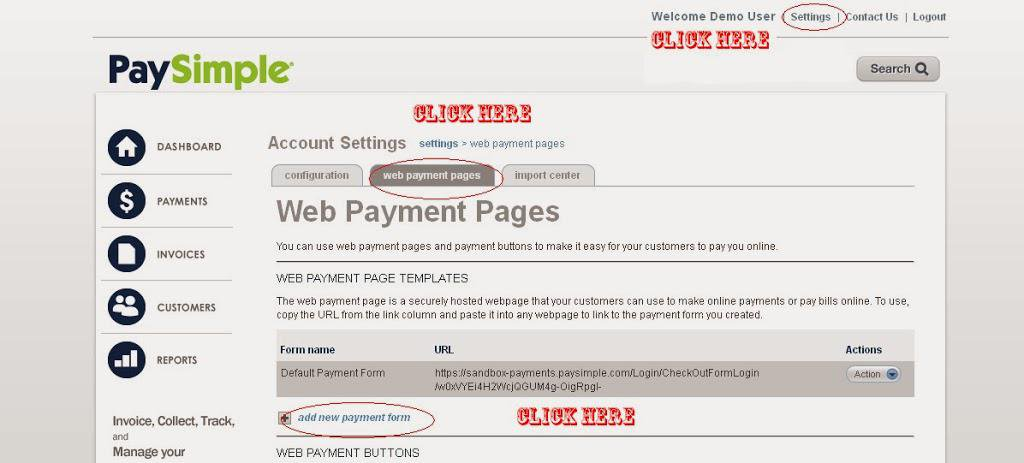 PaySimple Payment Gateway integration -…