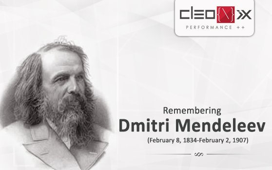 Remembering Dmitri Mendeleev - https://t.co/iyt8KhmE8x…